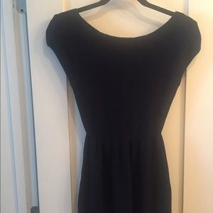 Tart collection. Size medium. Navy knit dress